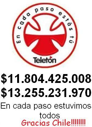 Ultimo Computo Teletón 2007