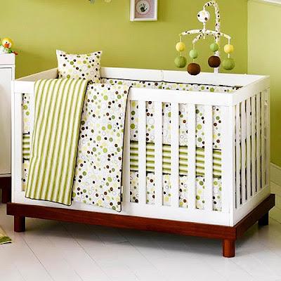 modern family modern crib - Mid Century Modern Crib