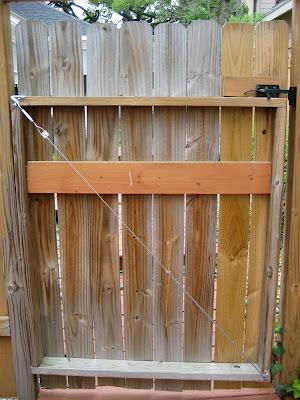 rust how to break a wooden door