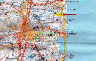 map perpignan torreilles
