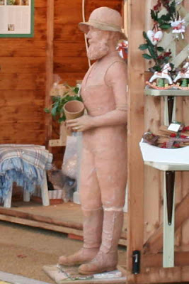 earthenware pottery man
