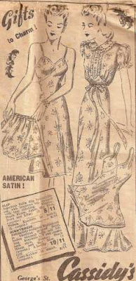 1942 newspaper ad