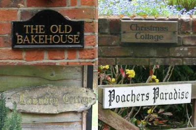 four house signs