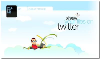 Comparte tus archivos en Twitter