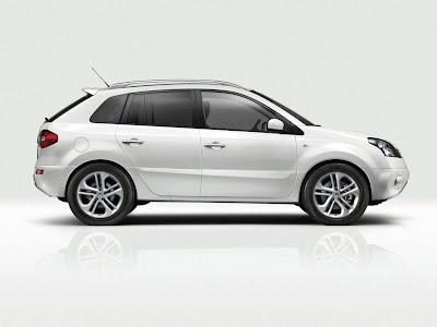 Renault Koleos 2011. Renault Koleos White Edition