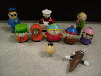 cthulhu south park. South Park Figurines Set