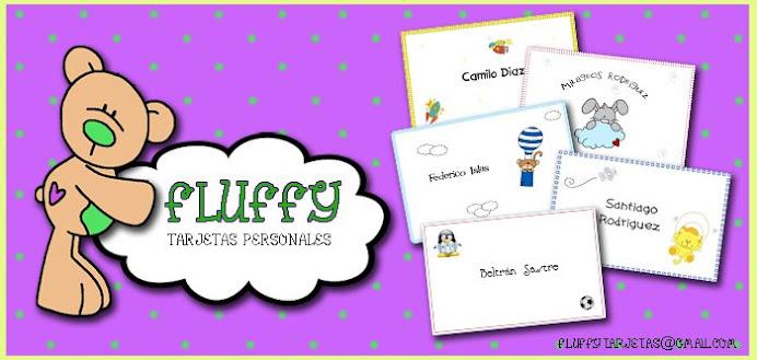 Fluffy Tarjetas Personales