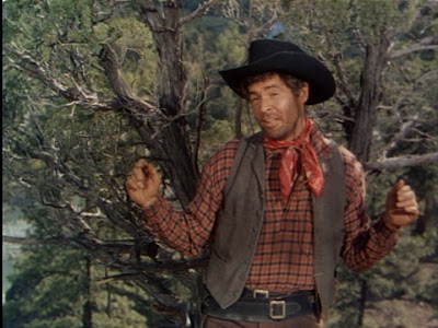 Robert Ryan in Anthony Mann's The Naked Spur