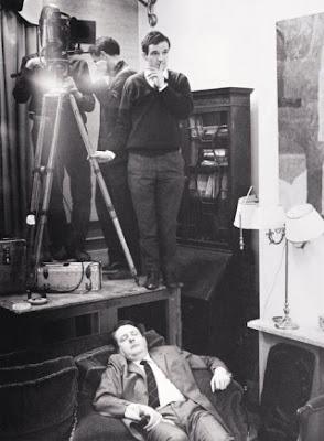 François Truffaut shooting