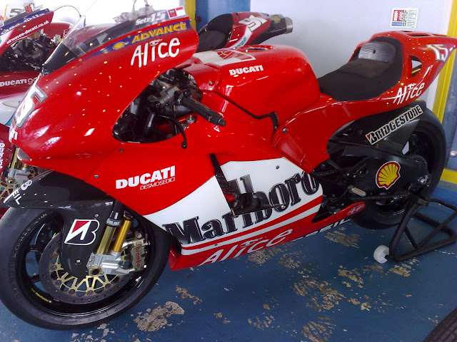Ducati Alice MotoGP Racebike Design