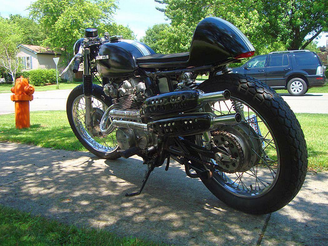 Interesting Honda Cl450 Cafe Racer Motorcycle Case