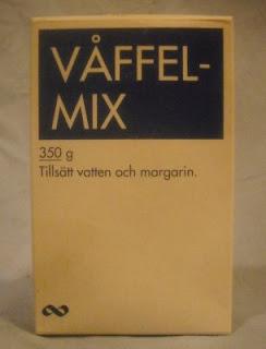 Blåvitt: Våffelmix