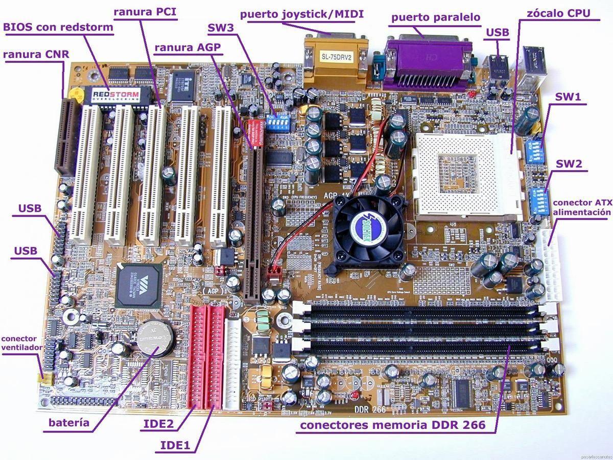 Blog de fran componentes internos del ordenador for Interno s