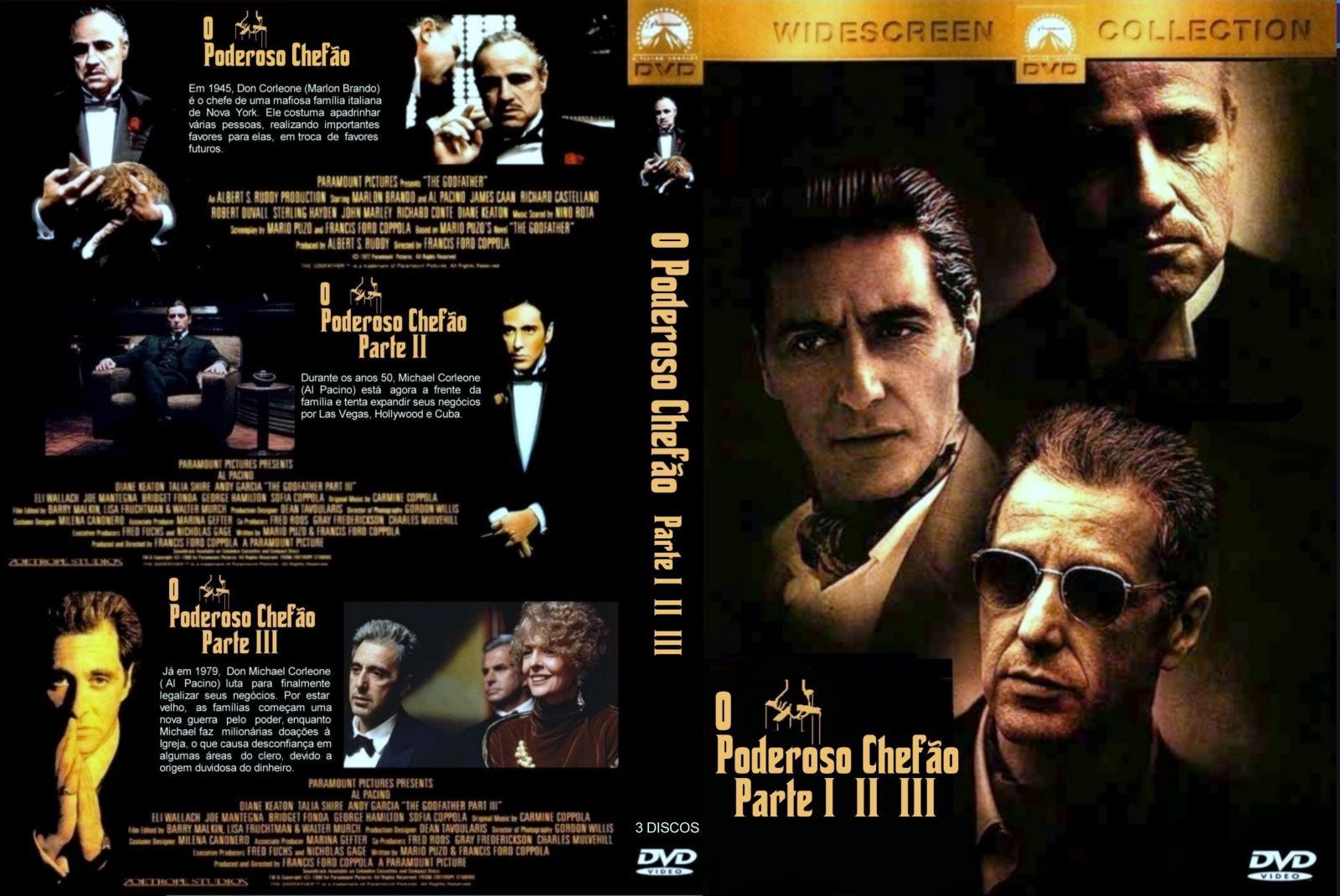 Download Trilogia O Poderoso Chefão DVDRip XviD Dual Áudio O Poderoso Chef 25C3 25A3o   Trilogia