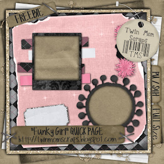 http://twinmomscraps.blogspot.com/2010/01/new-funky-girl-scrapkit-40-off-freebie.html