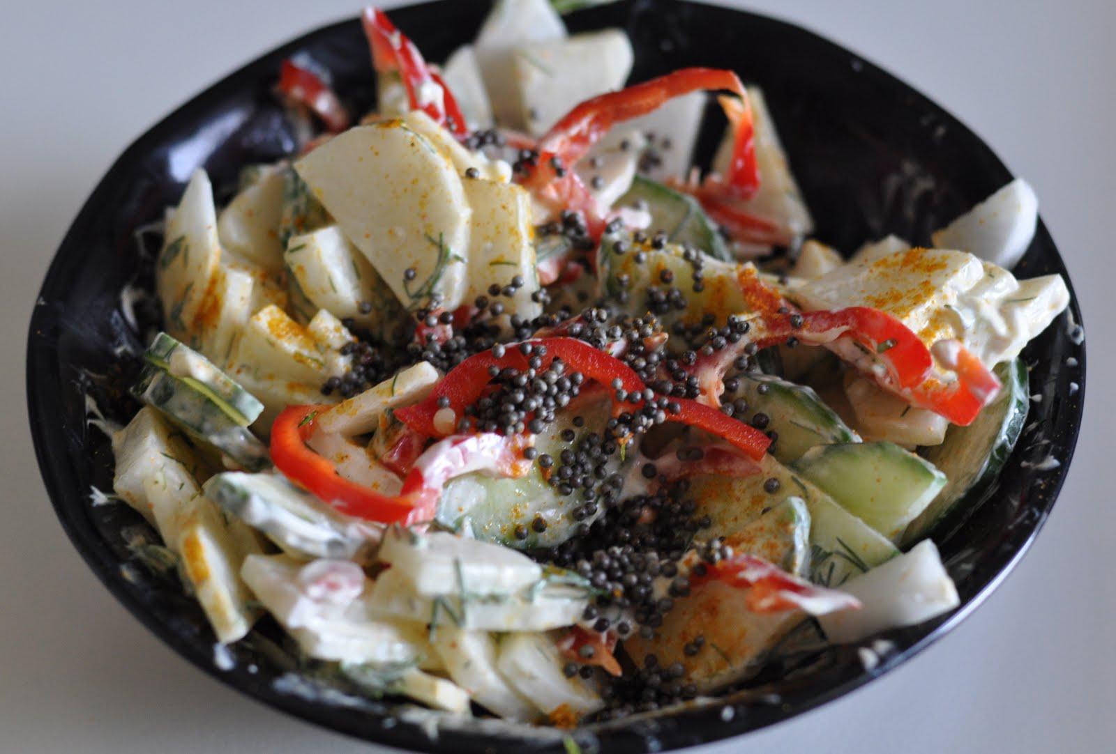 Curried Daikon Salad