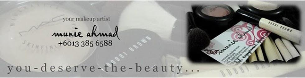 Munie Ahmad - A Makeup Artist, A Researcher, A Student