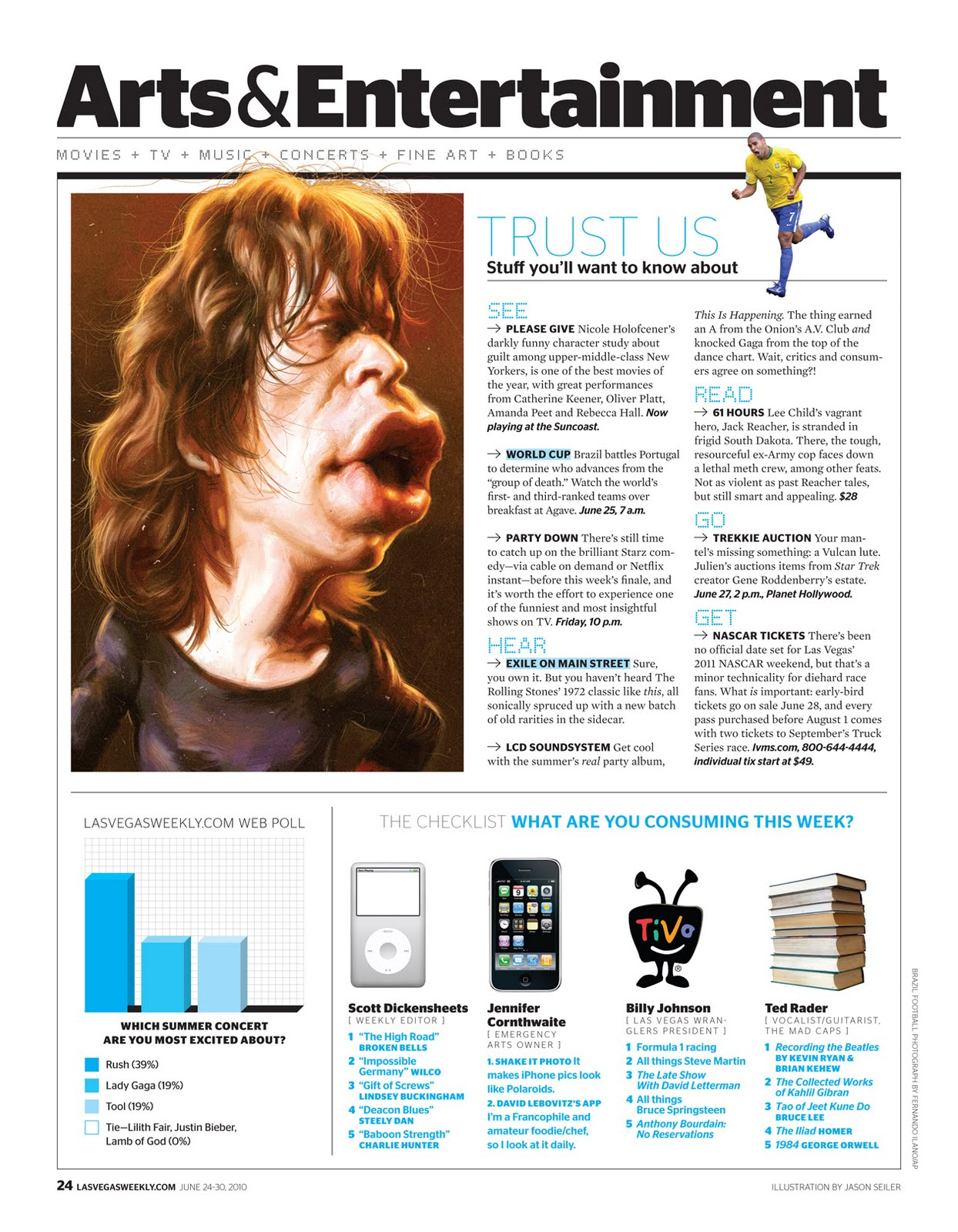 It S Funny Because It S True Mick Jagger Portrait For Las Vegas Weekly