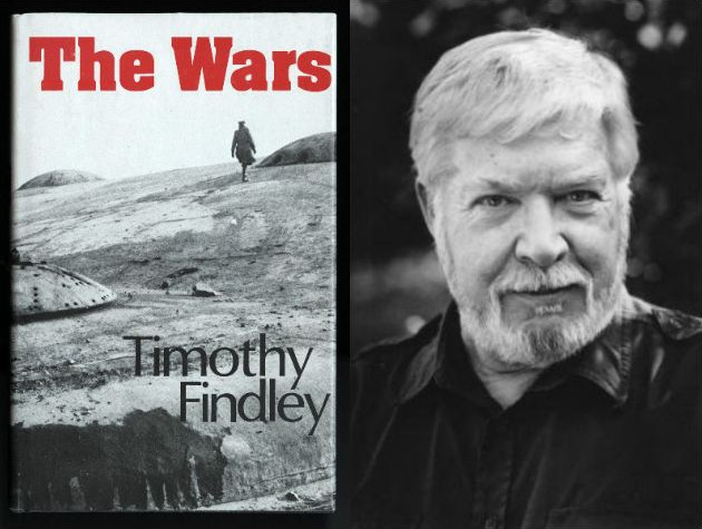 wars timothy findley 1 1 findley, a novelist, playwright, essayist, and short story writer, won many awards for his work he  1 it would be hard to exaggerate the importance and impact of war on the life and work of canadian author timothy findley (1930-2002) 1 although he was born in well-to-do rosedale, toronto, the two world wars reached deeply into that safe, comfortable world to twist or destroy the lives of .