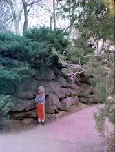 angry boy at zoo #3