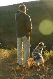 Ben and Taz enjoying the view