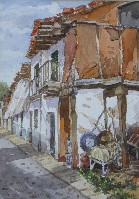Pintura de Jesús Garzón: Urbanismo