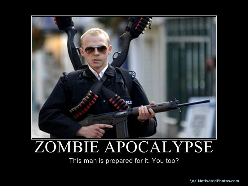 Apocalipsis zombie, visto desde la ciencia.