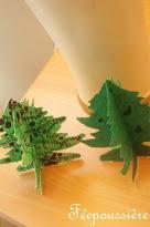 Faire une décoration sapin de Noël