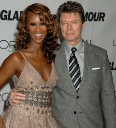 Iman and hubby David...