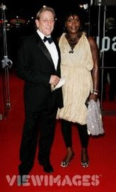 Actor Mark Wingette and his wife