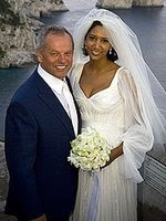 Wolfgang Puck and new wife....