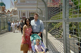 Dani and her family on vacation....