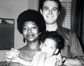 Alice Walker, Author of color purple, with her family...
