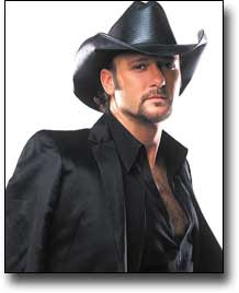 Hunk of the Month.  Gorgeous Tim Mcgraw