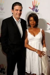 Alfre and her hubby...