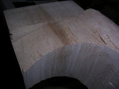 Heel carving