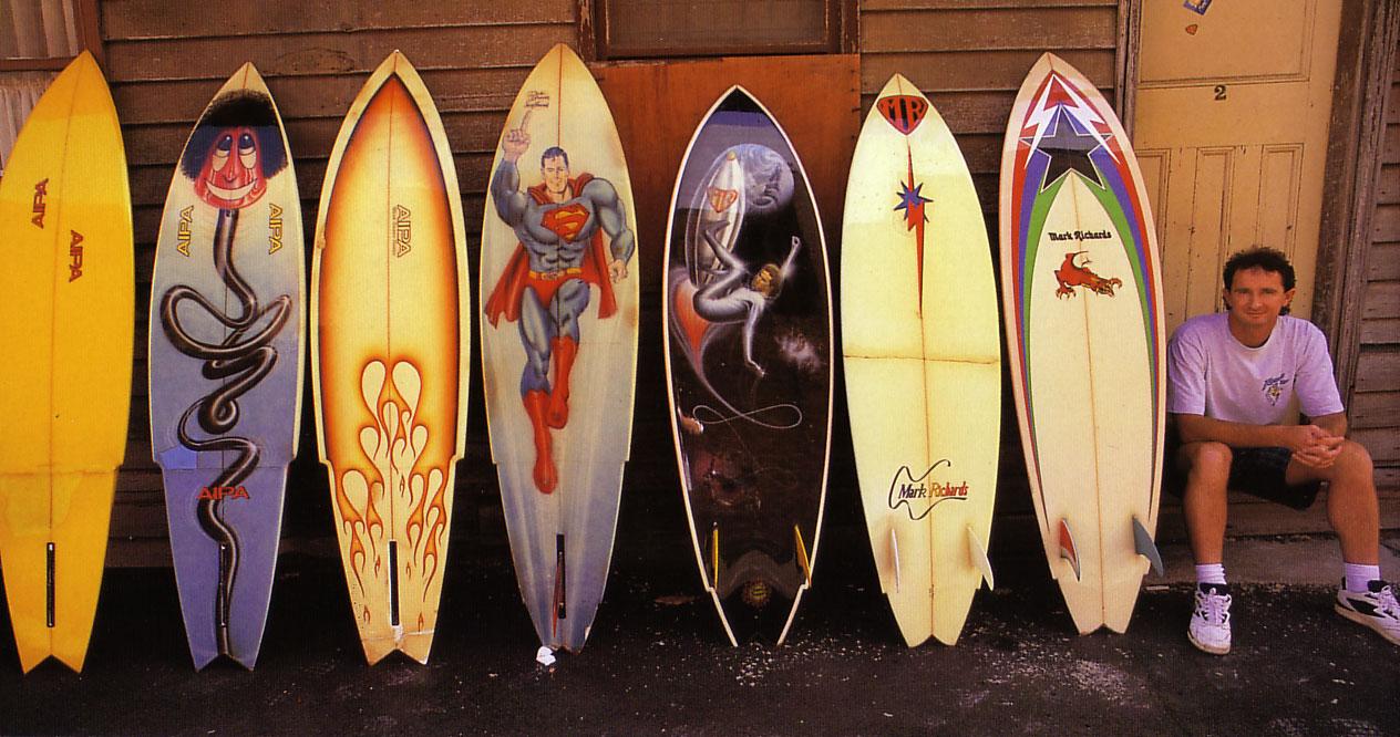 mark richards vintage surfboards