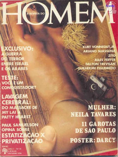 Neila Tavares nua na Playboy 1976