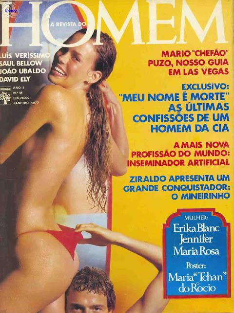 Maria do Rócio nua na Playboy 1977