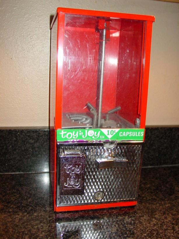 Toy N Joy Machine : Garage sale finds toy n joy