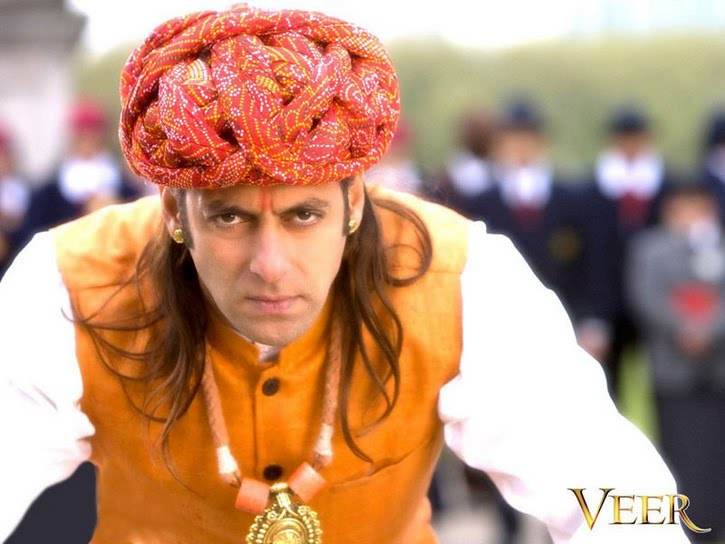 new wallpapers of salman khan. SALMAN KHAN UNIQUE PERSONALITY: VEER - NEW WALLPAPERS