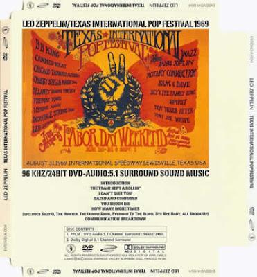 Led Zeppelin - Texas 1969
