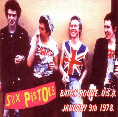 Sex Pistols: Baton Rouge '78. Kingfish Baton Rouge, L.A., USA 1978.