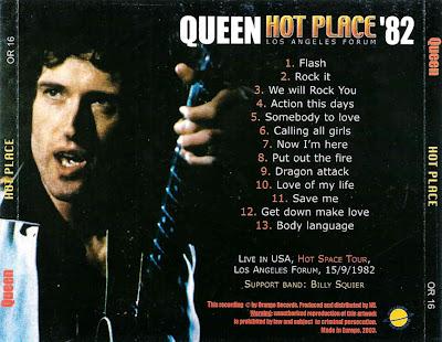 La bombe a retardement : 100 Queen+Hot+Place+Bootleg+la+forum+82+back