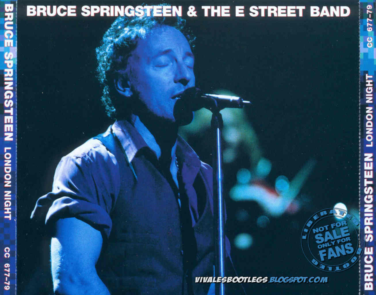 Bruce Springsteen: London Night. Wembley Arena, London, England 2002.