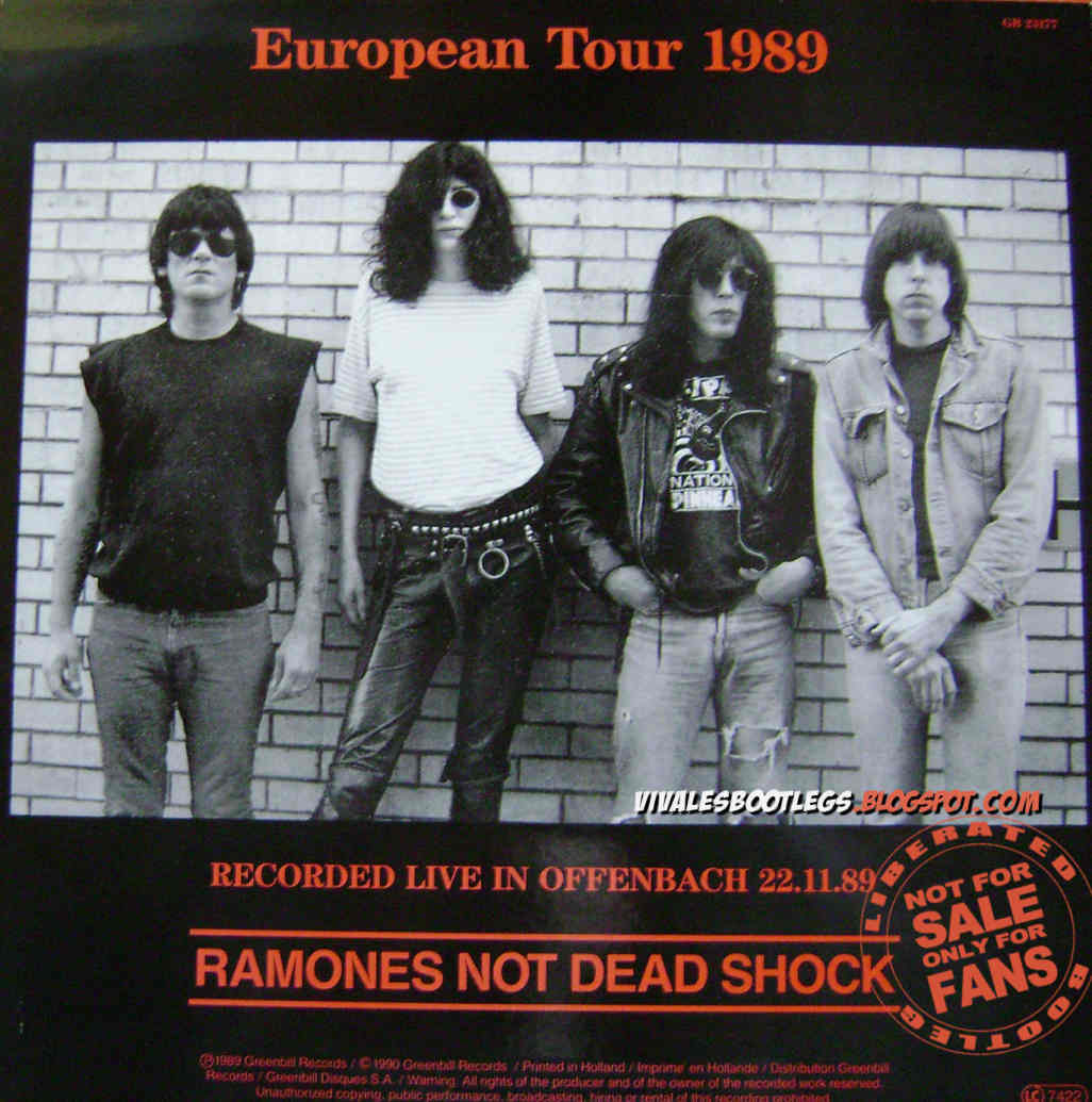 The Ramones America Kill Stadthalle Offenbach Germany
