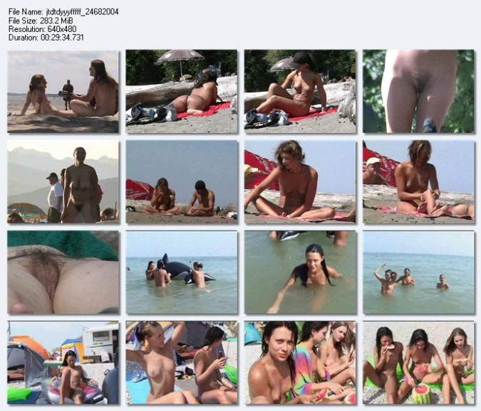 Minutos De Tias Guapas Espiadas En La Playa Volumen Iv