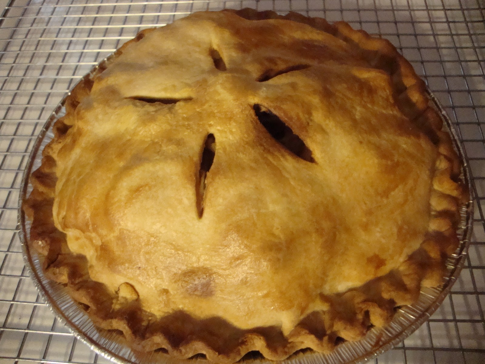 Breaking bread with Lisa: Old fashion apple pie