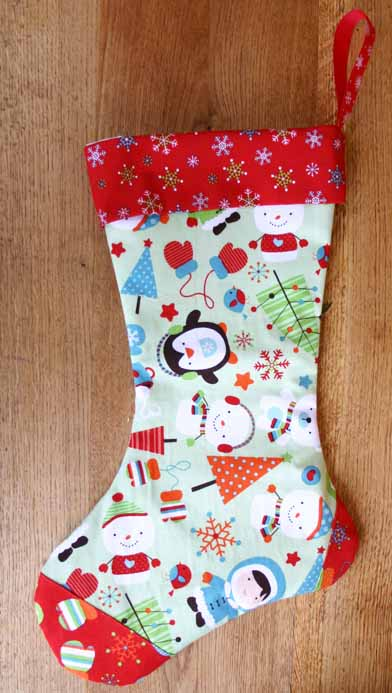next in our gifts decorations and craft fairs series is this super cute christmas stocking