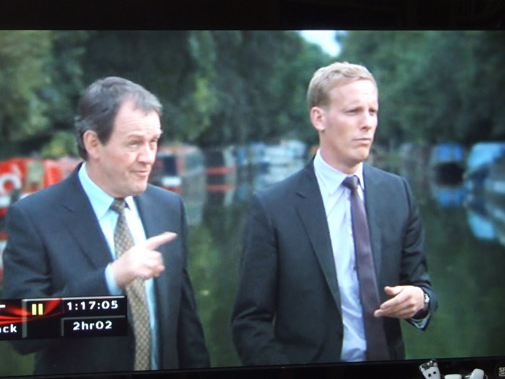 Inspector Lewis in Herbie's manor